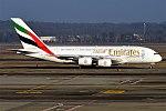 Emirates, A6-EDD, Airbus A380-861 (28357898119).jpg