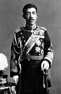 Emperor of Japan from 1912 until 1926