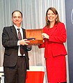Ena von Baer participa en la premiación del periodista Nibaldo Mosciatti.jpg