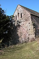 End wall of a barn, Llanthony Priory - geograph.org.uk - 133973.jpg
