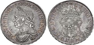 Royal Mint - 1658 Cromwell Crown