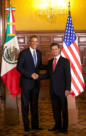Effects of NAFTA on Mexico - President Obama and President Nieto meet in Mexico. Elite attitudes towards NAFTA differ from lower-class attitudes.