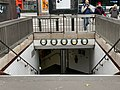 Entrée Station Métro Marcel Sembat Boulogne Billancourt 3.jpg