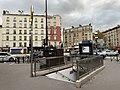 Entrée Station Métro Marcel Sembat Boulogne Billancourt 4.jpg