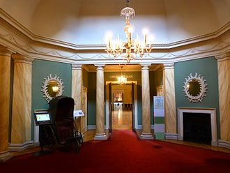 Bath Assembly Rooms - Entrance into the Octagon Room
