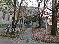 Entrata da Via Saporiti del Liceo ginnasio statale Benedetto Cairoli - Vigevano.jpg
