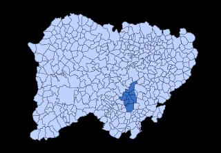 Entresierras Comarca in Castile and León, Spain