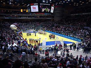 Ergo Arena - Image: Ergo Arena – wnętrze