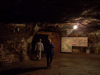 Merkers Adventure Mines - Image: Erlebnisbergwerk Merkers 2010 005
