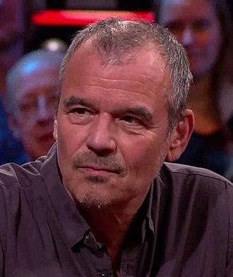 Ernst Jansz - Ernst Jansz on talkshow De Wereld Draait Door