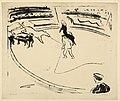Ernst Ludwig Kirchner - Zirkusmanege mit springendem Pferd - 1909.jpg