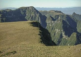 São Joaquim National Park - Image: Escarpas