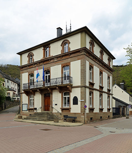 Esch-sur-Sûre (Grand Duchy of Luxembourg): town hall