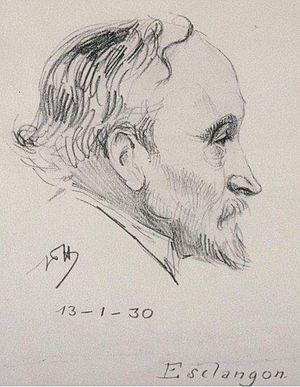 Ernest Esclangon - Image: Esclangon