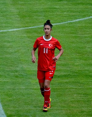 Esra Manya - Esra Manya for Turkey girls' U-17