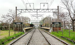 Esteban Echeverría Partido - Station of trains Luis Guillón.Photo:Ramon Belozo.