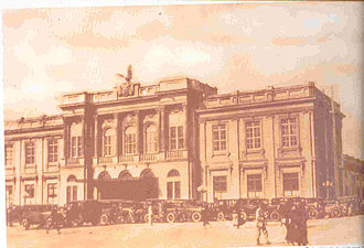 Timeline of Bogotá - Central train station 1930