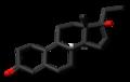 Ethyldienolone 3D skeletal.png
