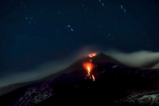 Etna's NSEC (New South East Crater) eruption