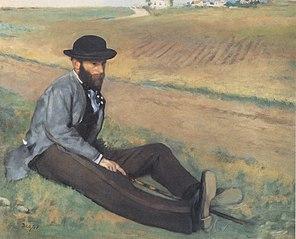 Portrait d'Eugène Manet