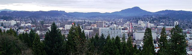 Eugene skyline feat. Spencer Butte