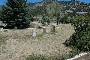National Register of Historic Places listings in Juab County, Utah - Image: Eureka Utah Cemetery