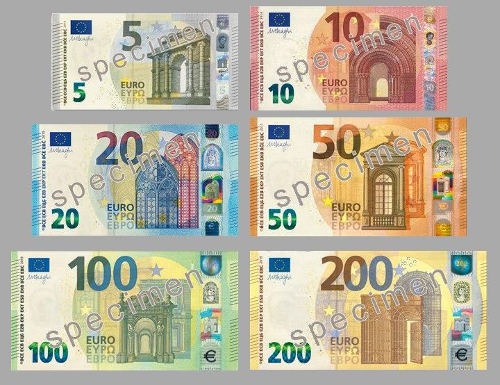 Euro Series Banknotes (2019)