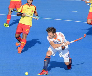 Miquel Delas Spanish field hockey player