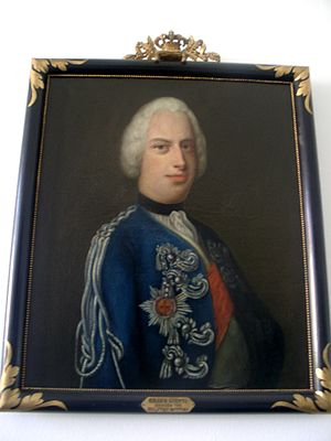 Prince Georg Ludwig of Holstein-Gottorp - Georg Ludwig of Holstein-Gottorp, Portrait in Eutin Castle