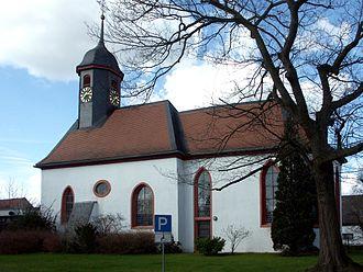 Erzhausen - Image: Ev Kirche Erzhausen