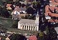 Evangélikus templom, légifotó, Apostag1.jpg