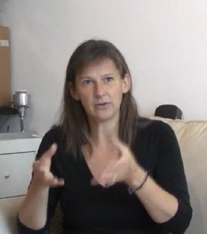 Eve Mosher - Image: Eve Mosher 2013 Sensing Change from video