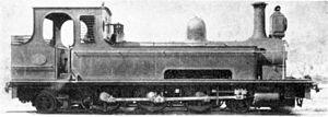 Metropolitan & Suburban 4-6-2T - Image: Ex M & S 4 6 2T Greenpoint as Mashonaland no. 6