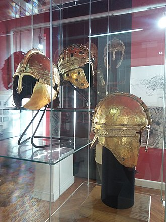 Novi Sad - Roman Golden Helmets, Museum of Vojvodina