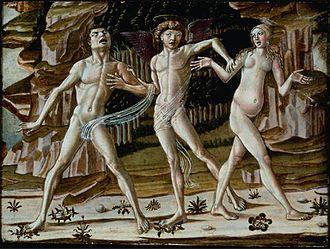 Benvenuto di Giovanni - Image: Expulsion from Paradise