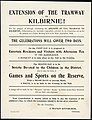 Extension of the tramway to Kilbirnie! For the purpose of fittingly celebrating the opening of the tramway to Kilbirnie, subscriptions are herewith respectfully solicited by the Committee set up for (21576402422).jpg