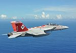 F-18F Super Hornet of VFA-102 in flight 2013.JPG