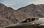 F-35A arrives at Nellis Air Force Base 24 April 2013.jpg