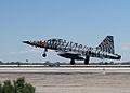 F-5N Tiger of VFC-13 lands at NAS Fallon In April 2015.JPG