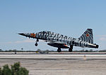 F-5N Tiger of VFC-13 lands at NAS Fallon In April 2015.JPG