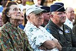 F-86E Sabre fighter aircraft dedication ceremony at Joint Base Pearl Harbor-Hickam, Hawaii, Dec. 8, 2011.JPG