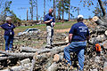 FEMA - 44171 - FEMA and State Officials with Volunteer in MS.jpg