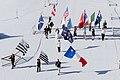 FIL 2012 - Arrivée de la grande parade des nations celtes - Drapeaux des pays celtes.jpg