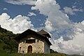 Façade ouest de la chapelle de Notre-Dame-de-Belleville (Hauteluce, Savoie, France).jpg