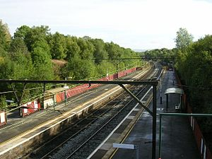 Fairfield railway station (Greater Manchester) - Image: Fairfield railway station 1
