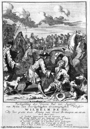 Second Stadtholderless Period - William III's accident