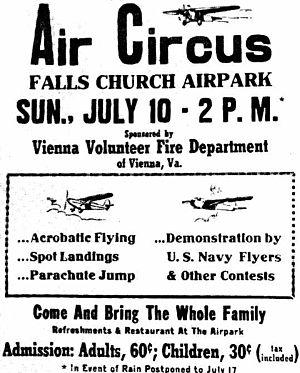 Falls Church Airpark - Image: Falls Church VA 49Air Fair