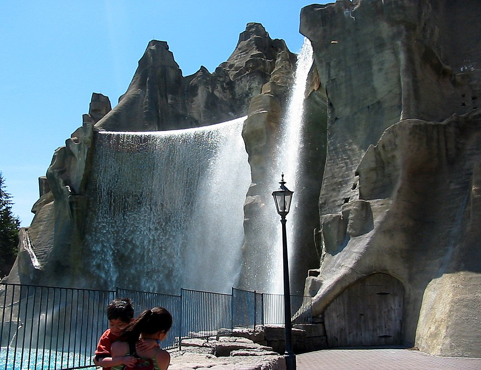 Wonder Mountain at Canada's Wonderland in Maple.