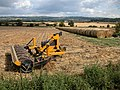 Farm machinery and straw bales at Frampton Farm - geograph.org.uk - 218901.jpg