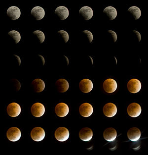 February 2008 lunar eclipse - Image: Feb 20 2008 Lunar Eclipse Collage